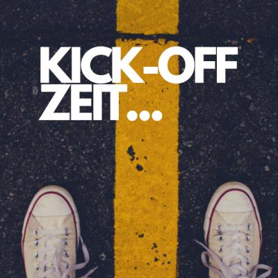 Kickoff Kick-Off Kick off Zeit Jahresanfang challenge Teambuilding