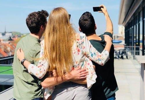 selfie-foto-gruppe